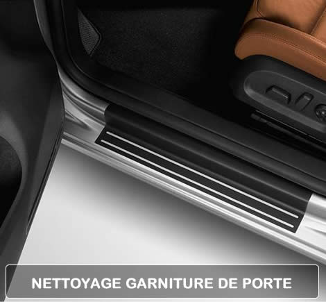 Nettoyer garniture de porte