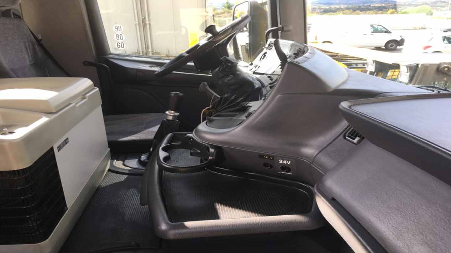 nettoyage cabine camion
